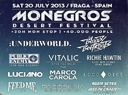 Monegros Desert festival 2013 - more names ... - Take out your agenda, and start planning summer; ...